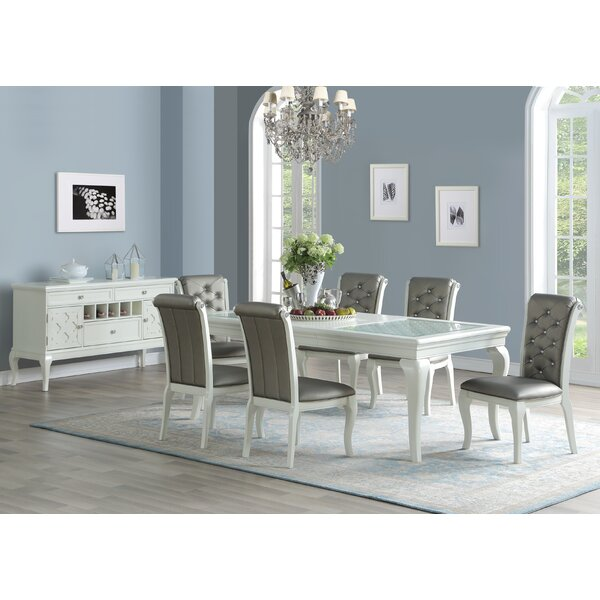 Brannen 7 Piece Drop Leaf Dining Set by House of Hampton