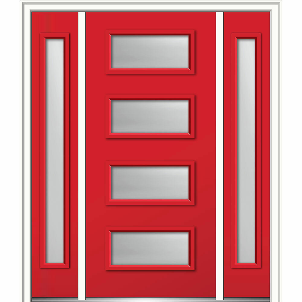 Verona Home Design Spotlight 4 Lite Ready To Install Steel Prehung