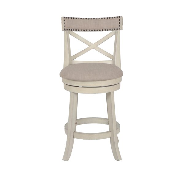Katara 24 Swivel Bar Stool by Gracie Oaks