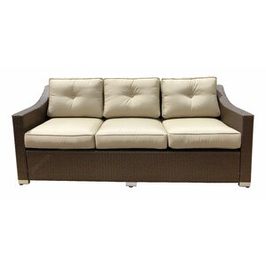 Tampa Sofa with Cushion World Wide Wicker