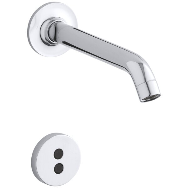 Purist Wall-Mount Touchless Faucet Trim with 35 Degree Spout by Kohler