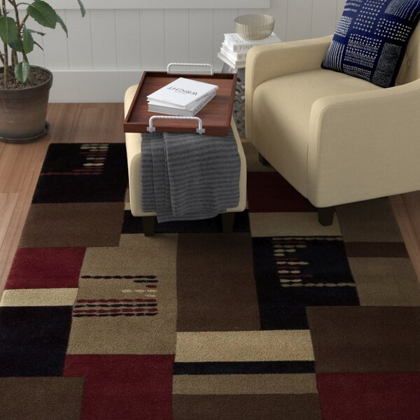 Bartelso Hand-Tufted Taupe Area Rug by Red Barrel Studio