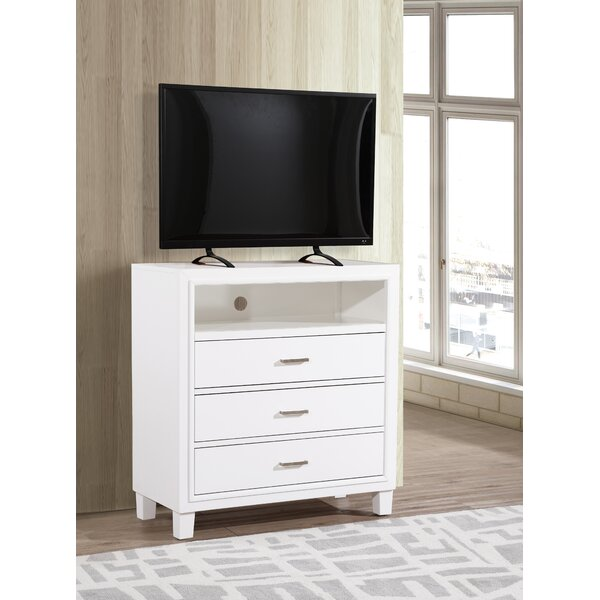 Weatherspoon 3 Drawer Bachelor's Chest By Charlton Home