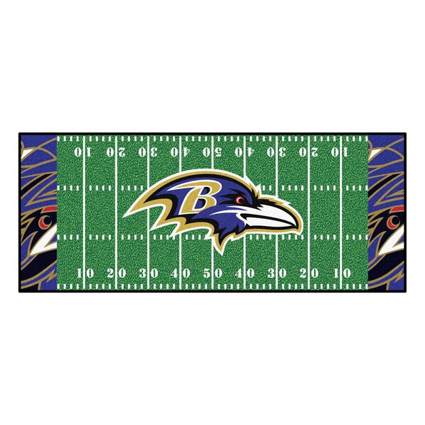 NFL Green Area Rug by FANMATS