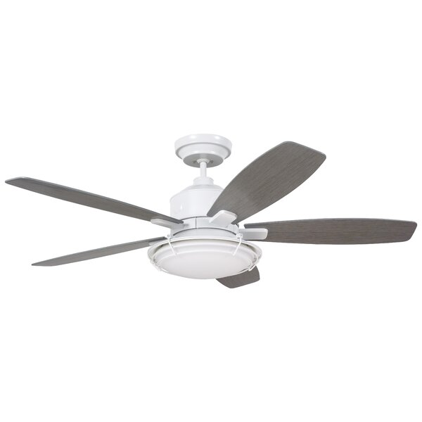 54 Jeanine 5 Blade Outdoor Ceiling Fan by Longshore Tides