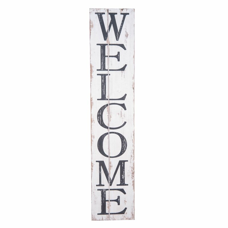 Conway welcome wall décor reviews birch lane