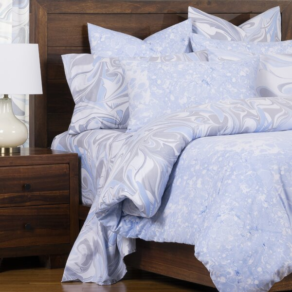 Quicksilver Blue Ice Reversible Duvet Cover and Insert Set