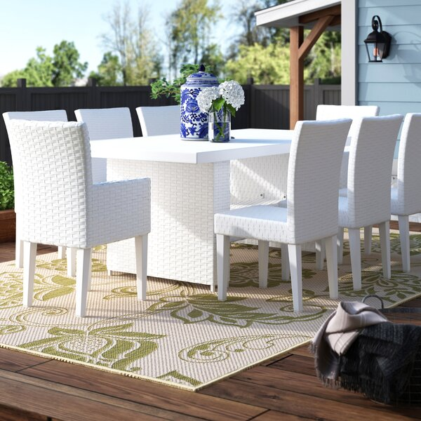 Menifee 9 Piece Dining Set by Sol 72 Outdoor
