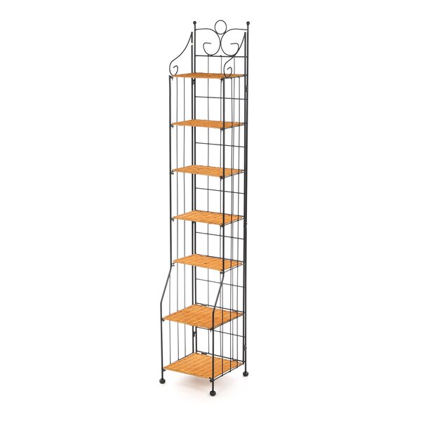 Wood Multimedia Storage Rack By Charlton Home