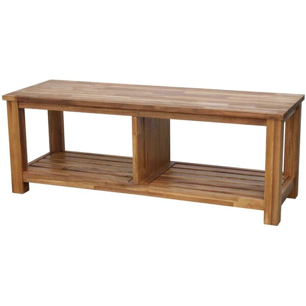 Yokum Solid Wood TV Stand For TVs Up To 55