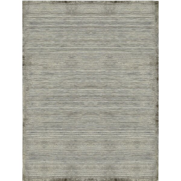 One-of-a-Kind Himalayan Hand-Knotted Gray Area Rug by Bokara Rug Co., Inc.