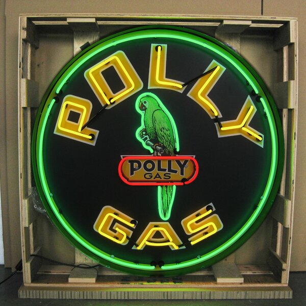Polly Gasoline Neon Sign by Neonetics