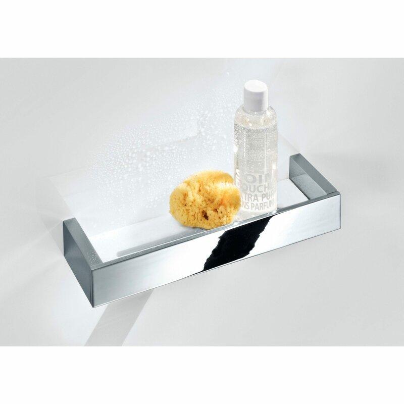Orren Ellis Soliz Wall Bath Shower Caddy Shelf | Wayfair