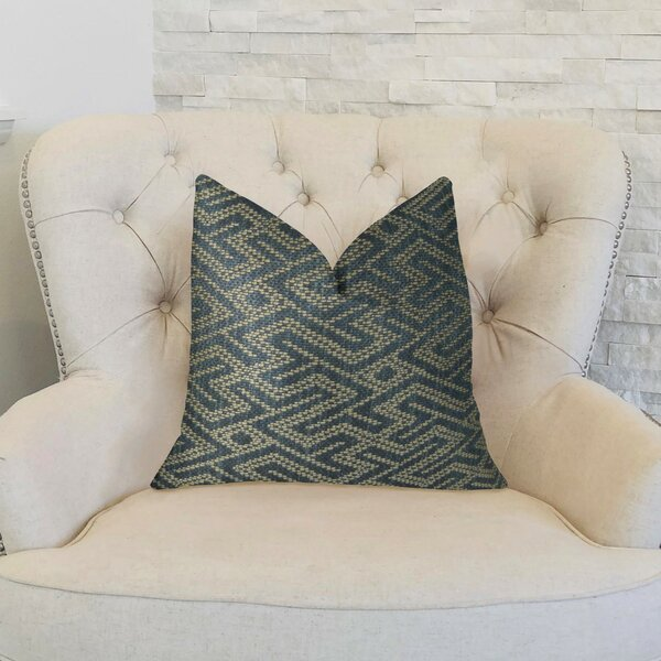 Garney Handmade Luxury Pillow by Everly Quinn