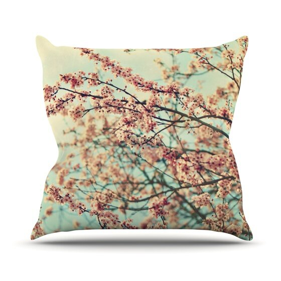 Take a Rest by Sylvia Cook Outdoor Throw Pillow by East Urban Home