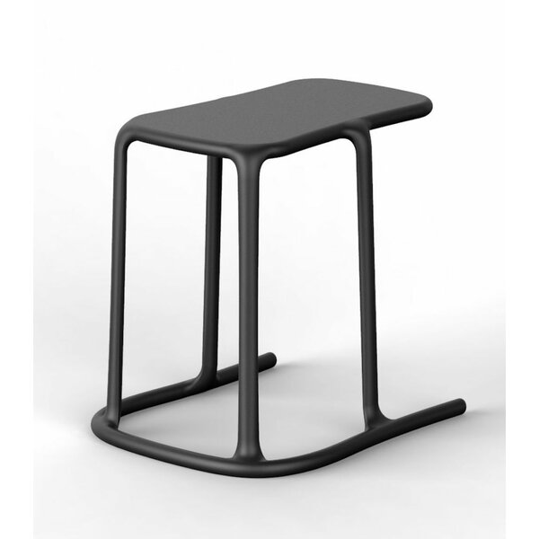 Lichfield Plastic Side Table by Orren Ellis