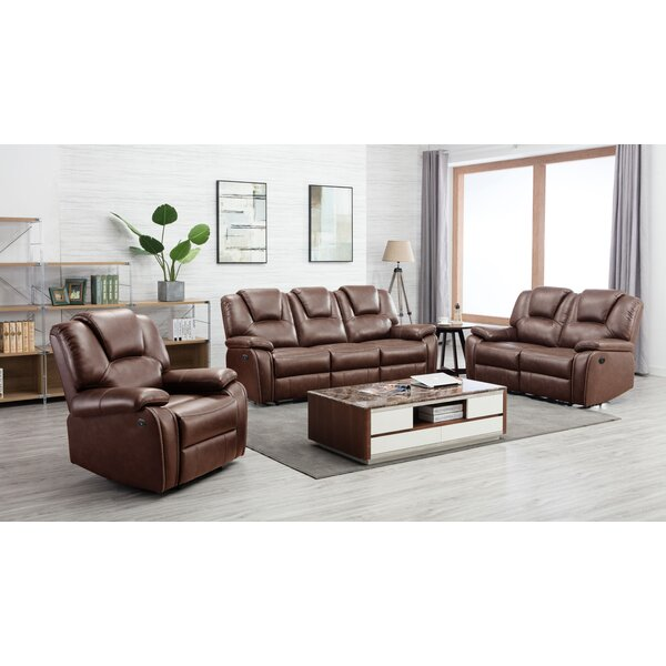 Izidora 3 Piece Reclining Living Room Set by Latitude Run