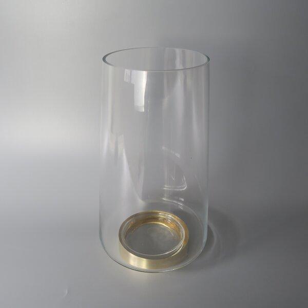 Base Glass Hurricane by Charlton Home