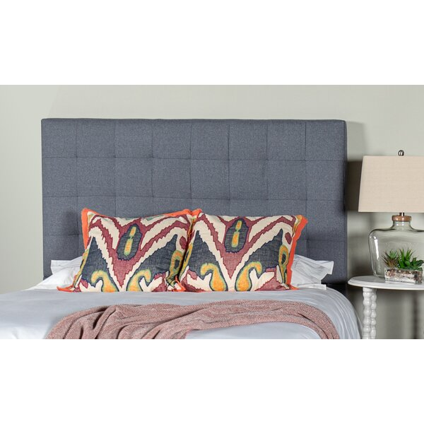 Gretna Square Tufted Upholstered Panel Headboard by Alcott Hill