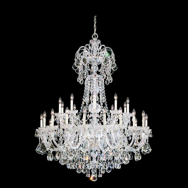 Olde World 35-Light Candle Style Empire Chandelier by Schonbek Schonbek