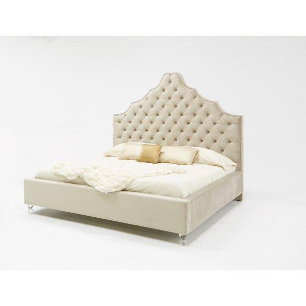 Guerra Fabric Upholstered Platform Bed by Rosdorf Park