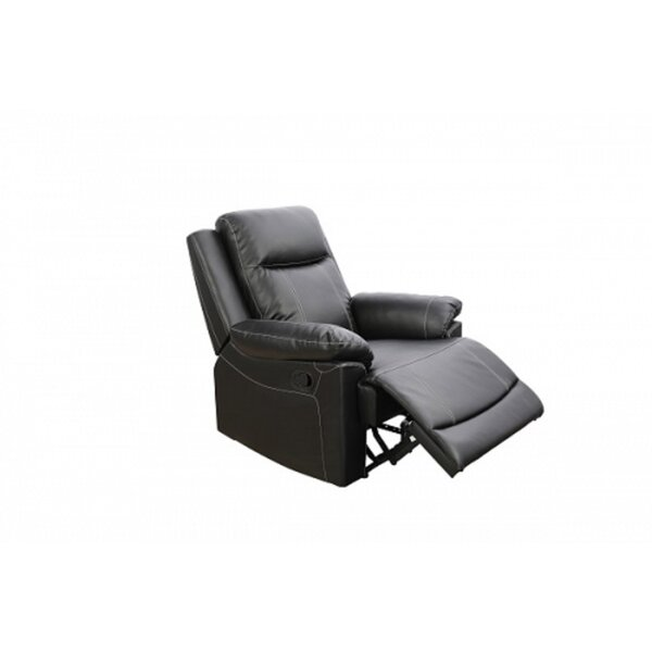 Timothea Faux Leather Manual Lift Assist Recliner W001436121