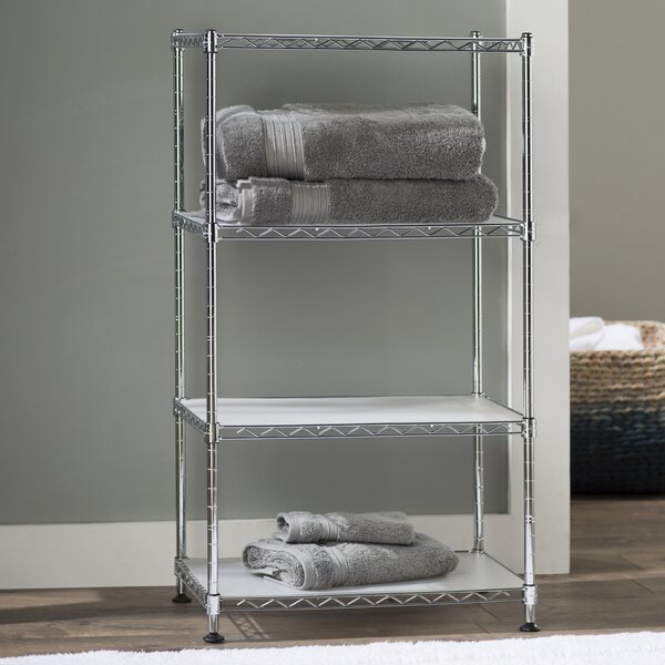 Fitzgerald 17.7 W x 31.5 H Bathroom Shelf by The Twillery Co.