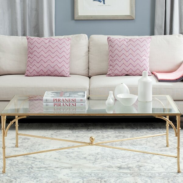 Spicer Coffee Table by House of Hampton House of Hampton