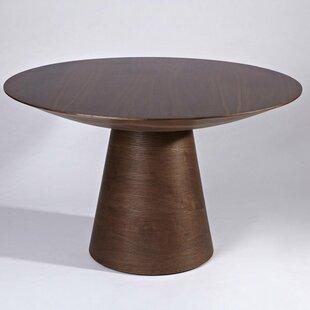 Read Reviews Helmick Pedestal Dining Table ByBloomsbury Market