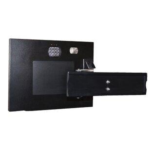 TV Mount Electronic Lock Wall Safe