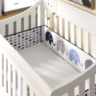 Baby Bedding Honest Baby Bedding Set Bumper Cotton Carton Print Soft Mother & Kids