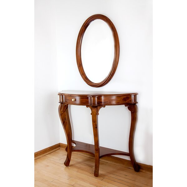 41.5 Console Table and Mirror Set