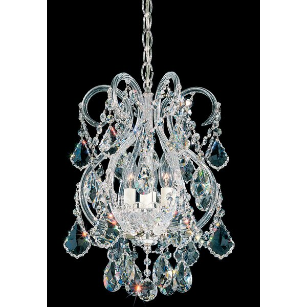 Olde World 4-Light Candle Style Empire Chandelier by Schonbek Schonbek