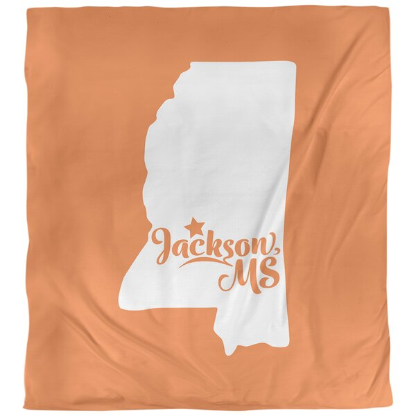 Mississippi Jackson Single Duvet Cover