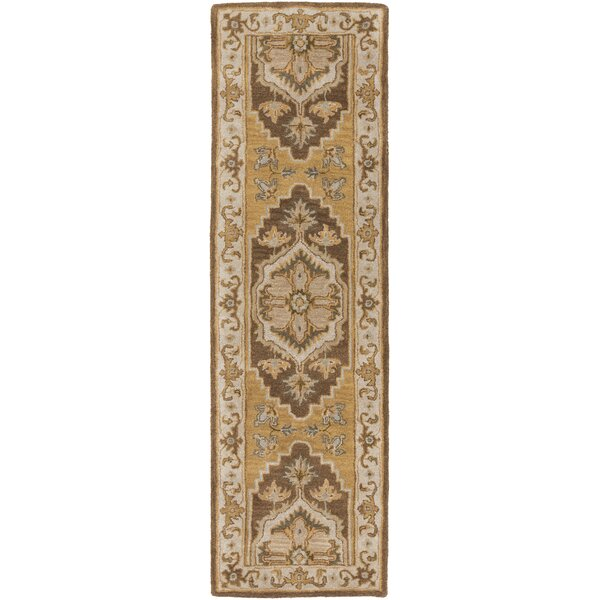 Dussault Brown Area Rug by Charlton Home