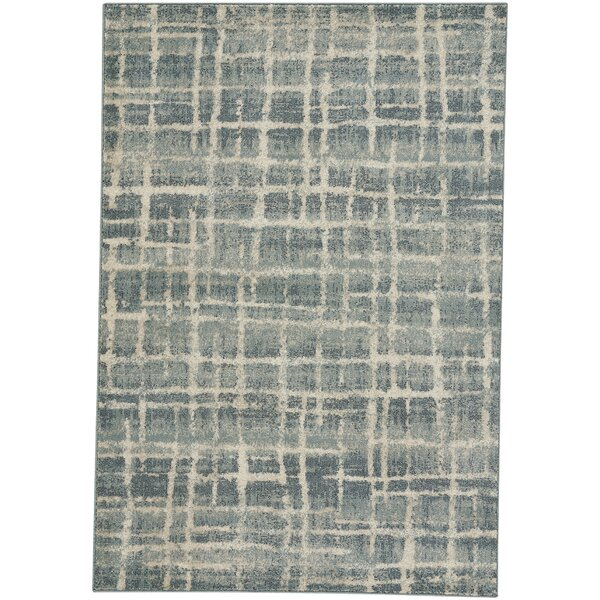 Adalyn Azure Blue Area Rug by Williston Forge
