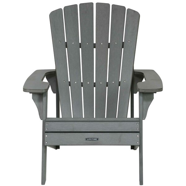 Plastic Adirondack Chair by Lifetime
