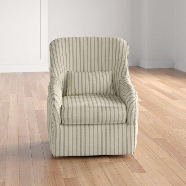 Kellam Swivel Armchair By Three Posts