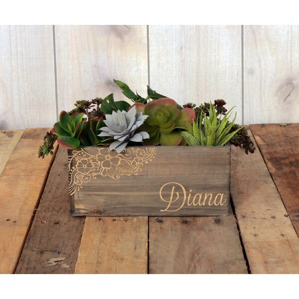 Marmont Personalized Wood Planter Box by Winston Porter