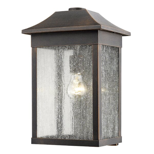 Astille Outdoor Wall Lantern by Loon Peak