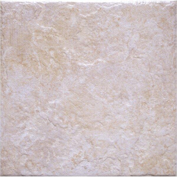 Romagna 13 x 13 Ceramic Field Tile in Bone by Interceramic