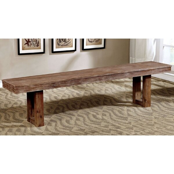 Castano Wood Bench by Foundry Select Foundry Select