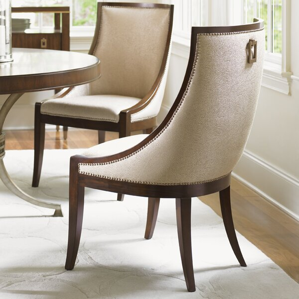 Modern Tower Place Talbott Host Upholstered Dining Chair By Lexington Today Sale Only