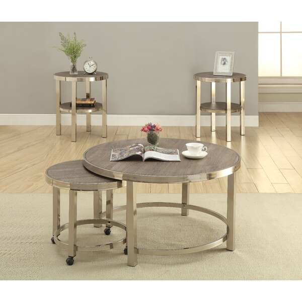 Review Brittingham 2 Piece Coffee Table Set