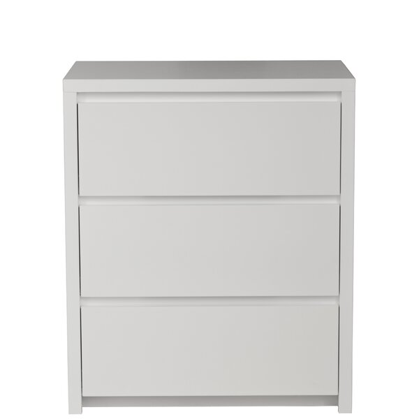 Kadon 3 Drawer Nightstand by Orren Ellis