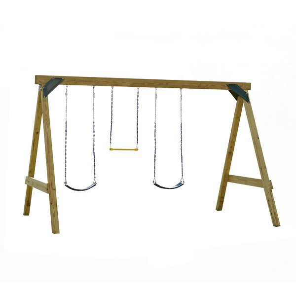 Ready to Build Custom Scout Swing Set Hardware Kit (Wood Not Included) by Swing-n-Slide