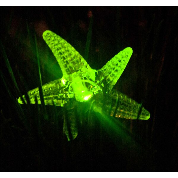 Starfish 30 Light Solar Powered String Lighting (Set of 2) by ALEKO