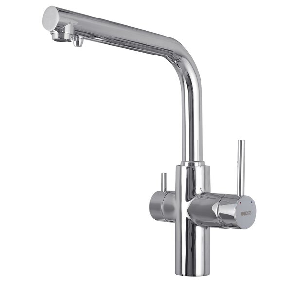 Double Handle Single Hole Kitchen Faucet by UCore