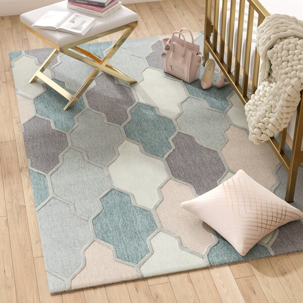 Galya Teal Area Rug by Willa Arlo Interiors