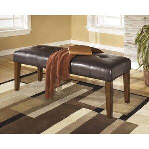 DeMastro Upholstered Bench by Red Barrel Studio Best Reviews